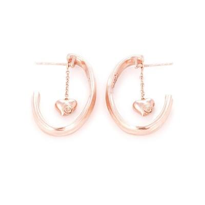 Rose stem earrings