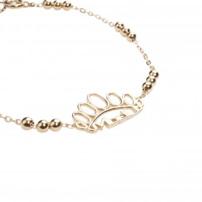 Yellow autumn bracelet