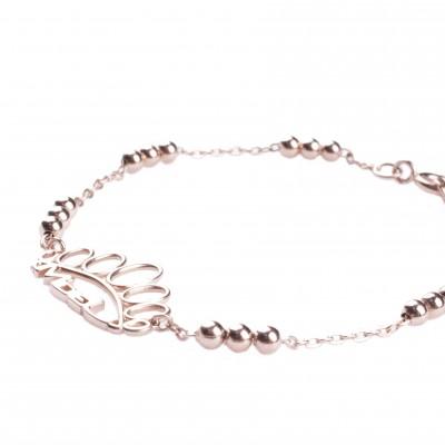 Rose autumn bracelet
