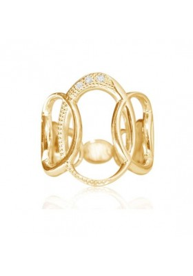 70´S RING WITH DIAMONDS