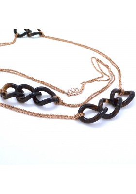Tiger eye links chain