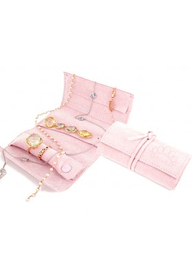 PINK TRAVEL JEWEL BAG