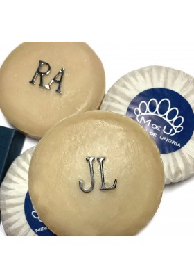 PERSONALIZED SOAPS WITH TWO INITIALS