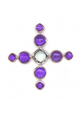 MC CROSS BROOCH