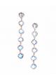 ICE BLUE EARRINGS 6x6
